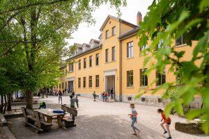 Schulgebäuder der Waldorfschule Weimar